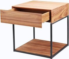 Blake Side Table, Walnut transitional-side-tables-and-end-tables