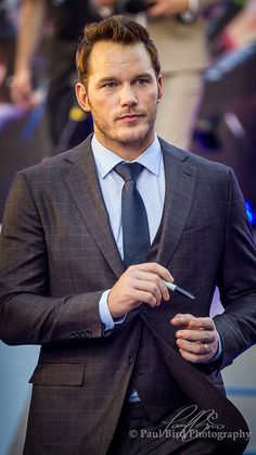 Chris Pratt. I would seriously marry him. Right now.