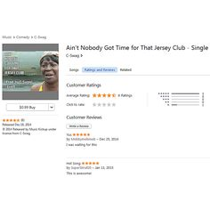 """The people love it! Just re-released """"Ain't Nobody Got Time for That"""" Jersey Club Remix and the ratings are going up! Click https://itunes.apple.com/us/album/aint-nobody-got-time-for-that/id953382402 or visit cswagmusic.com/music"""