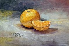 Clementines by Spencer Meagher Oil ~ 5 x 7