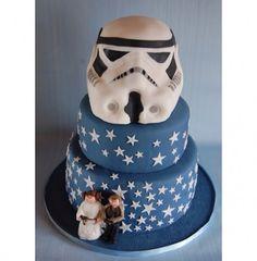Stormtrooper wedding cake