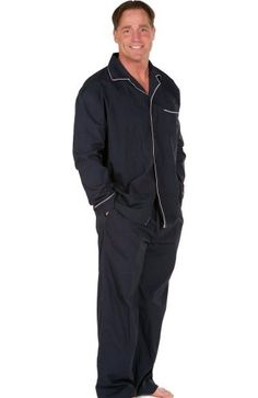 Men`s Classic Cotton Pajamas Set