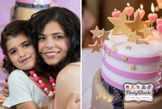 Pink Hollywood Glam Birthday Party created for my beautiful daughter on her 7th birthday! Read more about this fabulous party on www.partystock.ca/blog