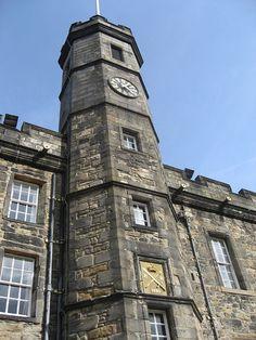 Edinburgh Castle - Palace Tower