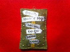 Felt Hogwart's Signage ornament (Dani)