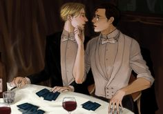 HarryDraco:I will pay the bill, you taste the wine by ~alteregopi on deviantART