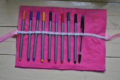 #pencil #case #diy #no #sew #handmade #felt #back #to #school