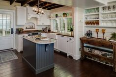 Tips on how to give your home a cottage style kitchen #cottage #kitchen