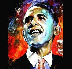President Obama art....