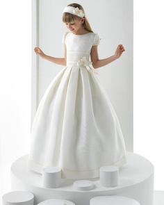 2015 First Communion Dresses Floor Length Sleeve White Peals Cap Sleeve Cute Custom Made holy communion dress Promotions-in Flower Girl Dresses from Weddings & Events on Aliexpress.com | Alibaba Group
