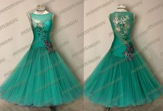 New Ready to Wear Jade Stiff Net Ballroom Competition Dress Size 6 8 | eBay