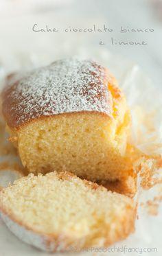 Cake al cioccolato bianco e limone