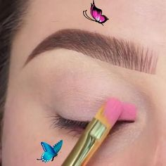 Eye Makeup 💙 (by @jessicarose_makeup)<br>