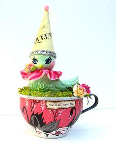 *We'll all have tea!*, via Flickr.  Handmade by: Debrina Pratt