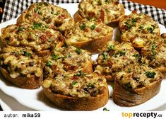 Sweet Desserts, Bread Baking, Baked Potato, Hamburger, Toast, Brunch, Food And Drink, Snacks, Cooking