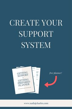 Create Your Support System | Nadia J Charles | Clinical Hypnotherapist & Life Coach