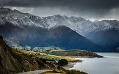 Haast Pass / The drive along lake Hawea will leave you screaming for more