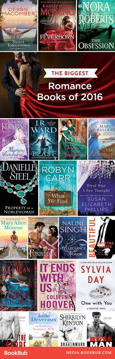 Romance books worth reading this year -- based on the top romance books from 2016.