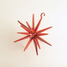 Vintage Christmas Ornament Sputnik Star Mid Century by efinegifts on Etsy