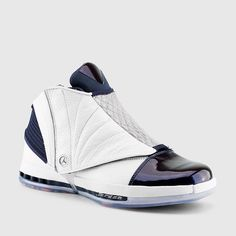 Air Jordan 16 Retro White Navy 683075-106 Has Been Restocked