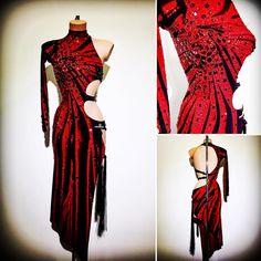 #abrahammartinez #dress #latin #red #cristal #lightsiam #swarovski #design #forsale FOR SALE