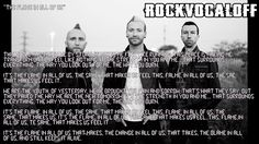 Thousand Foot Krutch - The Flame In All Of Us (Instrumental+Lyrics)