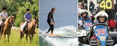 Séjours linguistiques à thématique sportive : surf en GB, sports d'aventures en Irlande,...