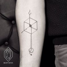 Lines and Dots Tattoes by Bicem-Sinik