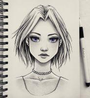 Violet eyes by natalico