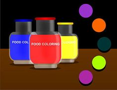 Make Different Colors With Food Coloring