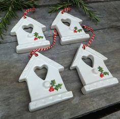 Homemade Ceramic Christmas Ornament