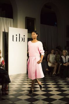 Tibi Takes Charleston, a fashion show down south Ann Street Studio, Charleston Style, Fall 14, Down South, Classy And Fabulous, Spring Summer Fashion, Catwalk, Purple, Pink