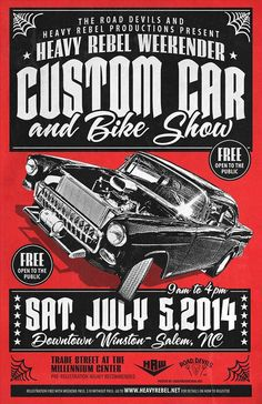Best Truck Fest Flyer Images On Pinterest In Antique Cars - Car and bike show flyer template