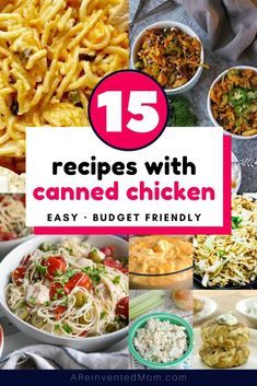 Recipe With Canned Chicken Breast, Recipes Using Cooked Chicken, Pre Cooked Chicken, Healthy Chicken Recipes, How To Cook Chicken, Cooking Recipes, Easy Recipes, Baked Chicken, Costco Chicken