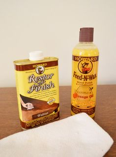 great products for restoring some luster to beat-up old wood finishes, and sealing it all in for long-lasting protection