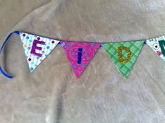 Glittery Eid Mubarak Banner
