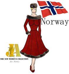 #norway #fashionhistory #vintagestyle #vintage #vintagedress #dresswomen #historiadamoda #history #seidesenharmuitobem #frozen #cold #60s #nordic #womensoftheworld #furhat  Snapchat: jose_aureliano3