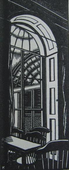 William Kermode (1895 - 1959)  linocut http://haji-b.blogspot.com/search?updated-max=2012-03-12T17:57:00Z=7=70=false