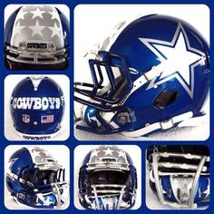 Awesome helmet for the boys. We'll never see it on the field.