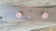 Hand crafted at Sweerwater Farms Trading Co.  Reclaimed mahogany wall hanging adorned with vintage style knobs.