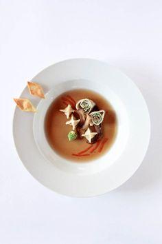 Gans in 4 Gängen: #food; #hautecuisine; #foodart