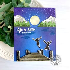 Hero Arts July My Monthly Hero Kit ( Giveaway) | Janette Kausen