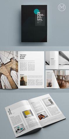 #proposal #brochure #template #indesign