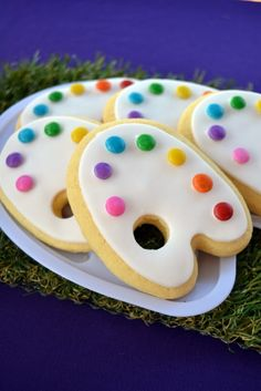 Cookies for Tangled birthday party