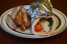 These gyros were so easy to put together! They were a great meal for when we needed a quick dinner. This recipe is adapted from What's C...