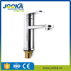 Round body zinc high tall basin mixer faucet with chrome plated