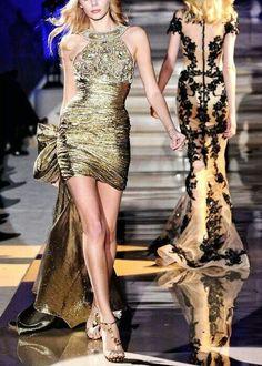 Runway gowns