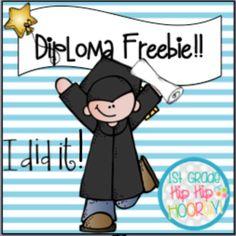 Enjoy this free diploma and craft!!