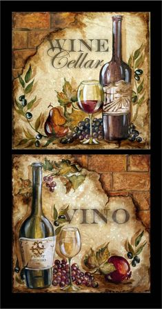 Tre Sorelle Искусство для Home Decor Arte Pallet, Decoupage Printables, Diy And Crafts, Paper Crafts, Cafe Art, Wine Decor, Tuscan Decorating, Decoupage Paper, Painting On Wood