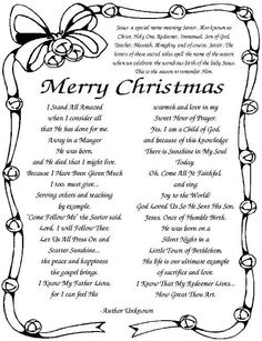 Religious Funny Christmas Poems 2017 For Reading In Church Funny Christmas Poems, Christmas Verses, Christmas Prayer, Christmas Program, Christmas Games, A Christmas Story, Christmas Printables, Christmas Projects, All Things Christmas